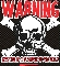 Warning - WRESTLING T-SHIRT
