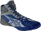 Asics Cael v5.0 Wrestling Shoes - Royal/Silver/Titanium