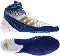 Adidas Response 3.1 Wrestling Shoes - White/Gold/Purple