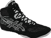 Asics Snapdown Wrestling Shoes - Black/Silver
