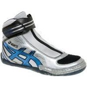 Asics Supreme Lyteflex 2 Wrestling Shoes - Silver/Royal