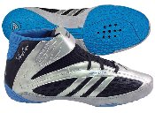 Adidas Vaporspeed II HC Wrestlling Shoes - Black/Silver/Blue