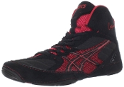 Asics Cael v5.0 Wrestling Shoes - Black/Red