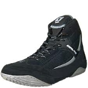 Brute Xplode Wrestling Shoes   Black/Silver